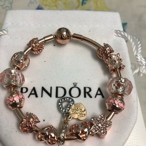 Pandora Jewelry - PANDORA ROSE BANGLE BRACELET size 18cm